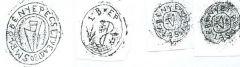 Régi legyesbényei bélyegzők