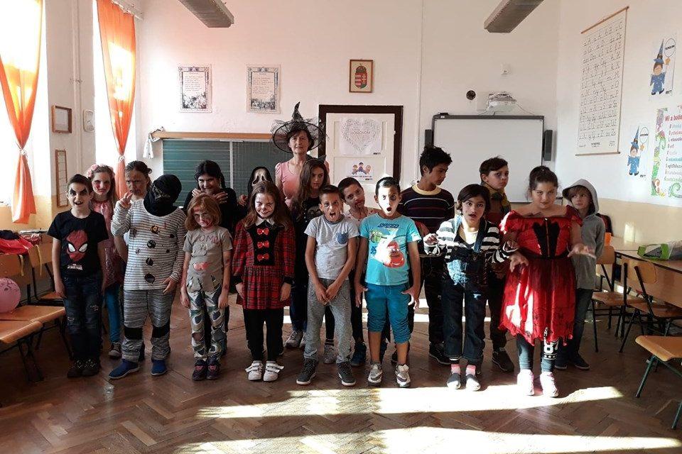 Halloween-party a 3-4. osztályban