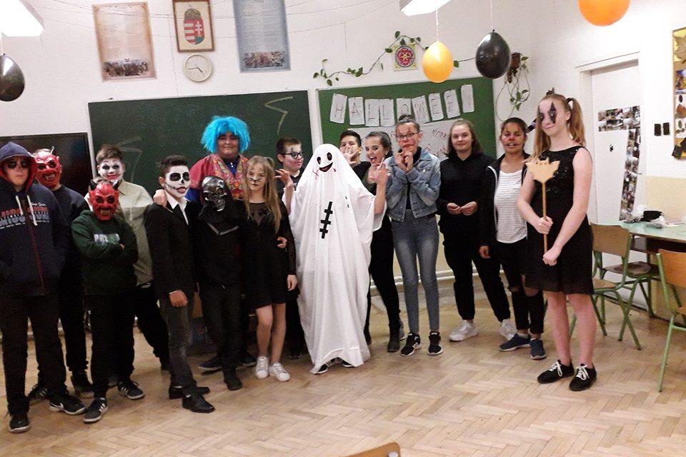 Halloween a hetedik osztályban