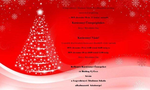 Karácsonyi műsor és vásár